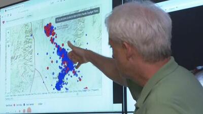 Una fuerte réplica de magnitud 4.4 se registra en el sur de California