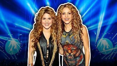Shakira conoce a su 'gemela' durante una gira por México