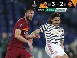 Manchester United pierde, pero completa el trámite ante la Roma y está en la Final