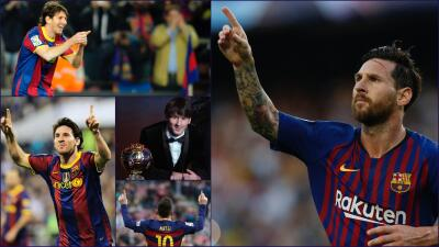 A los 15 años del debut de Messi