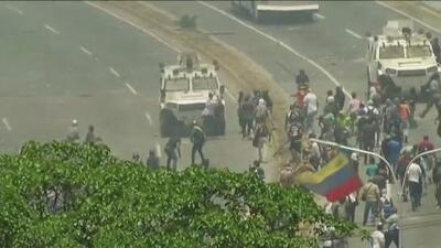 Venezuelan opposition leaders call people to the streets to oust Nicolas Maduro