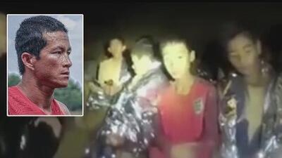 Muere buzo militar en cueva de Tailandia tras ayudar a los niños que se encuentran atrapados