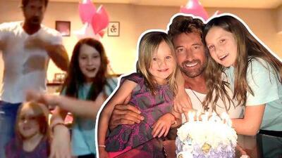 La inusual manera en que Gabriel Soto se divirtió en el cumpleaños de su hija mayor