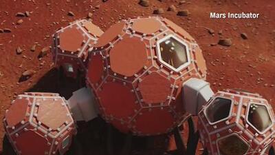 En un futuro no muy lejano, así podrían verse las casas de los habitantes de Marte