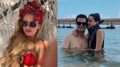 Critican a Peña Nieto luego de aparecer sin camisa en la playa y alaban la figura de su novia, Tania Ruiz