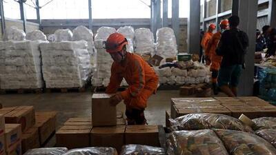 Ayuda humanitaria para Venezuela se acumula en la frontera con Colombia a la espera de órdenes de ingreso