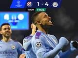 El City venció al Dinamo Zagreb y lo eliminó de la Champions