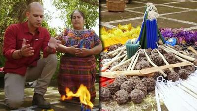 Flores, cuarzos, rezos y un gran altar para el ritual con el que Dr. Juan deseaba curar el insomnio y estrés
