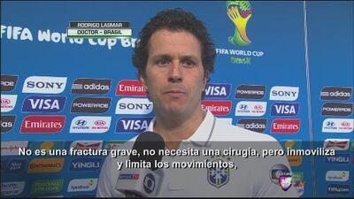"""Rodrigo Lasmar: """"Neymar no estará listo para regresar en una semana"""""""