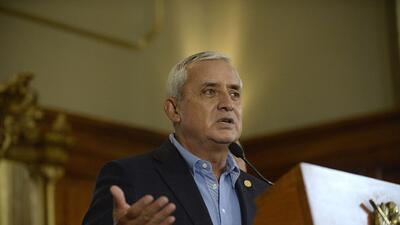 Expresidente guatemalteco Pérez Molina es imputado en otro caso de corrupción