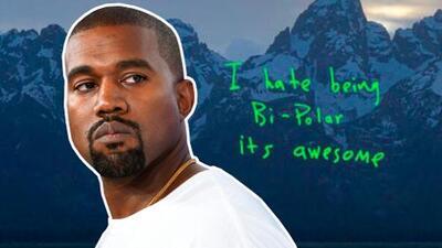 Kanye West revela que tiene una enfermedad mental