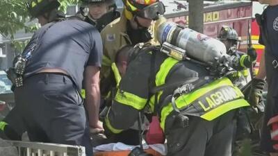 Una hispana y su hija mueren en un incendio provocado por la explosión de un aire acondicionado