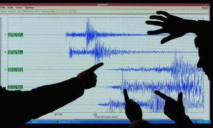 Indicadores de sismo. (Archivo)