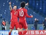 Lewandowski sobrepasó a Raúl González en la Champions League