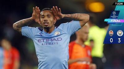 Shakhtar 0-3 Manchester City - Resumen y Goles - Grupo C - Champions League
