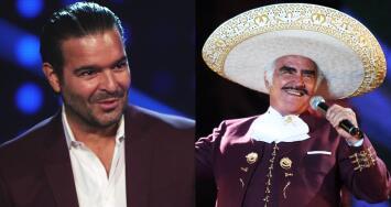 Pablo Montero prepara una sorpresa para Vicente Fernández, a quien interpretará en el regreso de Tu Cara Me Suena