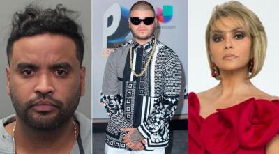En FOTOS: Zion fue arrestado en Miami y otros famosos que han tenido problemas con la ley