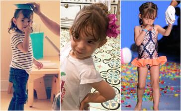 Las fotos más tiernas y divertidas de Michelle, la pequeña hija de Alan Tacher