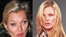 ¿Qué le pasó a Kate Moss?, la cámara traicionó (nuevamente) a la supermodelo