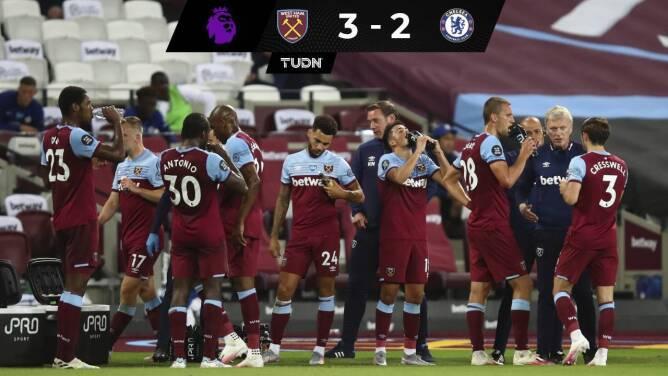 Chelsea tropieza ante West Ham, Wolves saborean la Champions