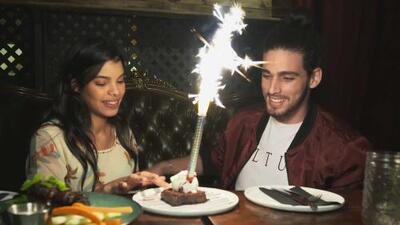Así fue le festejo de cumpleaños (atrasado) para Christian que Laura le preparó en su primera cita