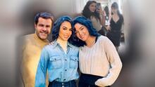 Hija menor de Biby Gaytán y Eduardo Capetillo intenta no sufrir junto a su hermana en Madrid