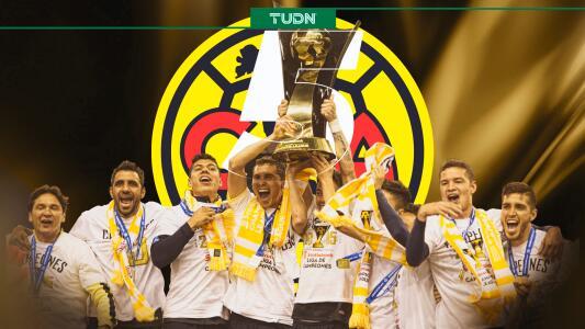 América se coronó campeón en Concacaf hace 5 años