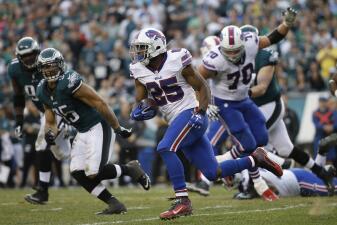Las mejores imágenes del Buffalo Bills - Philadelphia Eagles
