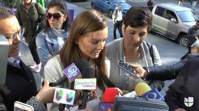 """""""Acá están los cheques que nunca cobré"""": Marjorie de Sousa quiere devolverle a Julián Gil la pensión de Matías"""
