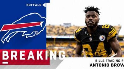 ¡Inesperado! Antonio Brown dejaría a Pittsburgh por los Buffalo Bills