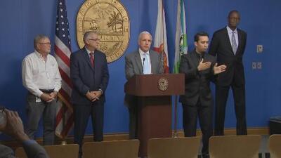 Alcalde de Miami-Dade anuncia preparativos ante posible impacto del huracán Dorian
