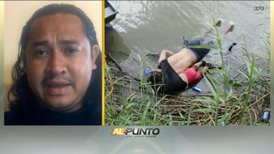 """""""Es el reflejo de que lucharon para sobrevivir"""": fotógrafo de la imagen del padre y la niña ahogados en la frontera"""