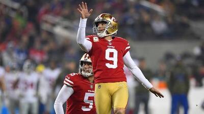 San Francisco 49ers no piensan dejar ir a Robbie Gould