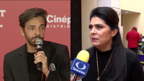 """""""Me divierto mucho"""": Eugenio Derbez apaga la polémica que generó al hablar de su ex, Victoria Ruffo"""