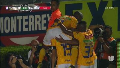 ¡GOOOL! Guido Pizarro anota para Tigres