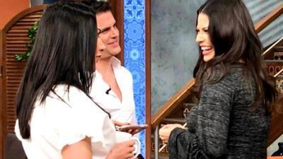 Detrás de cámaras: Mark llegó con la buena compañía de su novia y la sorprendimos en gran charla con Ana Patricia