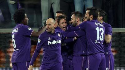 La Fiorentina derrotó al líder Juventus