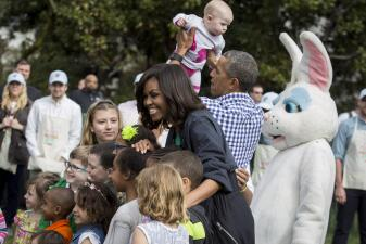Fotos: los Obama celebran su última fiesta de Pascua en la Casa Blanca