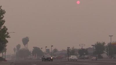 Incendio Camp provoca grave contaminación en el norte de California