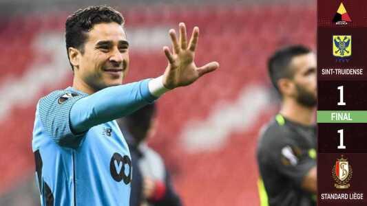 Ochoa se viste de héroe y el Standard Lieja empata con Sint-Truidense