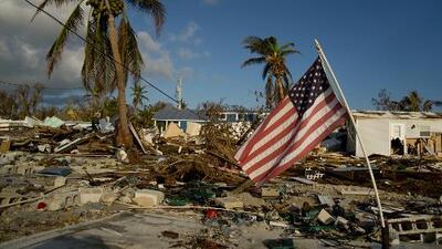 Donde antes vivían personas solo hay lotes vacíos, los cayos de Florida medio año después del huracán Irma