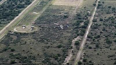 No descartan que haya residentes de Illinois en el avión siniestrado en Durango, México