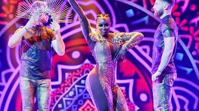 Muy al estilo JLo, Amara 'La Negra' defendió su lugar en la gran final de Mira Quién Baila All Stars