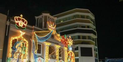 Denuncian gasto de $81 mil en encendido navideño de Aguadilla