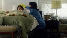En 'Songbird' COVID-19 ha mutado y es más peligroso, Sofia Carson nos habla de la película.