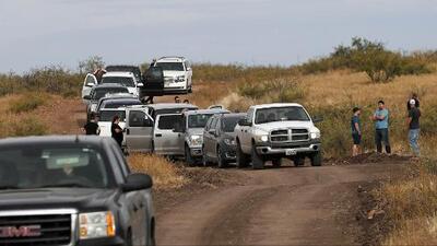 Más de 30 caravanas estadounidenses llegan a México para decirle adiós a la familia LeBarón