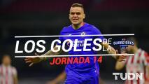 Casi nadie faltó: los goles de la J-14 en la Liga MX