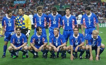 Estos fueron los héroes de Croacia en Francia 98, cuando llegaron a ser terceros del Mundo