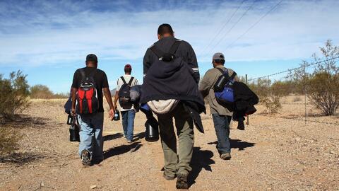 Yuma en Arizona, la zona fronteriza por la que cada vez más migrantes intentan llegar a EEUU