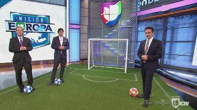 'Paco' Villa, 'Bam Bam' Zamorano y Tony Cherchi presentaron su XI ideal de las ligas europeas